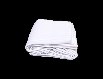 6 protectors de gassa culets de tela bolquers de tela adz nadons