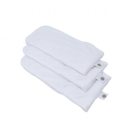 pac popin absorbents extra acabat de neixer bolquers de tela culets de tela reutilitzables ecologics