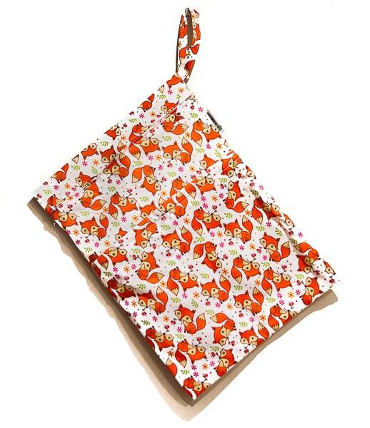 Bossa estanca T TOMI culets de tela bolquers reutilitzables barcelona