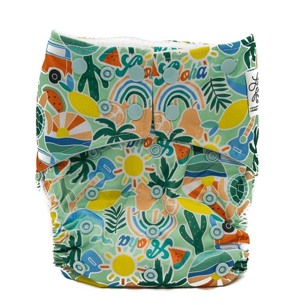 hippy nadó bolquers de tela ecologics