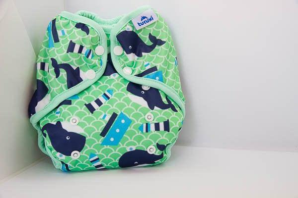 cobertor balenes verd culets de tela bolquers de tela