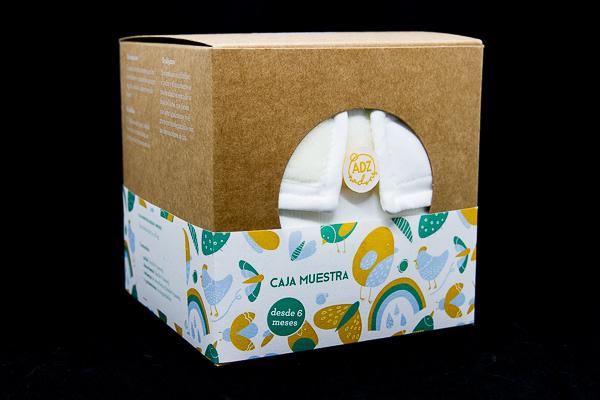 caixa bolquers de tela adz nadons culets de tela