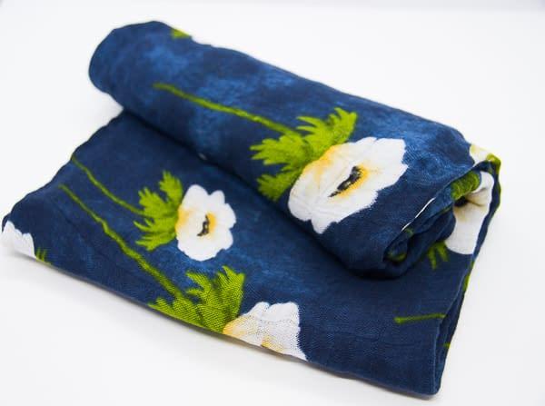 Musselina bambú i flors - Consum eco i sostenible
