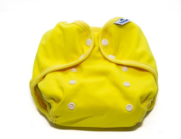 bolquer de tela cobertor groc