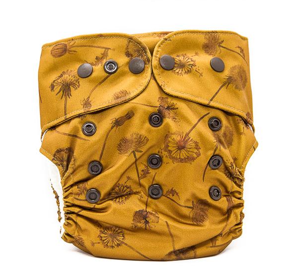 dent de lleó culets de tela bolquers ecologics